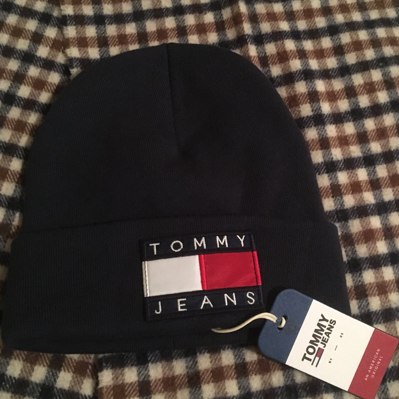 62f6b9ea6d0  t w d. last month. United Kingdom. Brand new Tommy Hilfiger Jeans 90s  capsule beanie ...