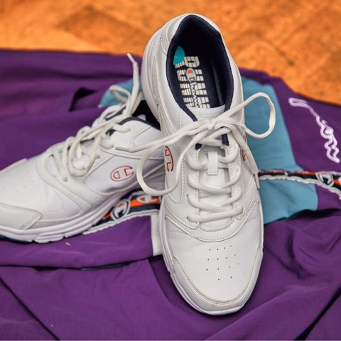 6caa044a503 White champion trainers. Brand new never worn