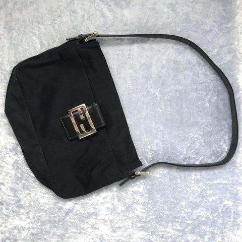 1a0b721a91f7 Black authentic Fendi purse This shoulder bag is SO CUTE in - Depop