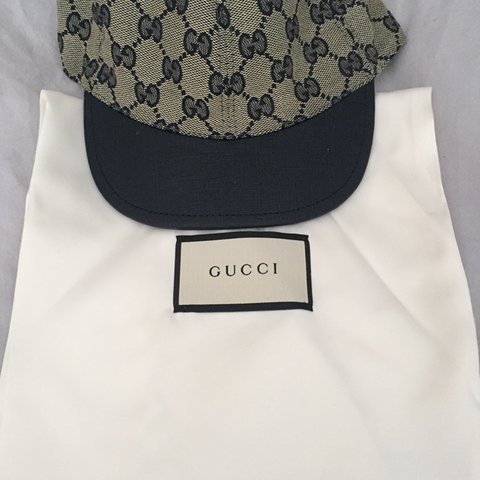 e31e7208c44a6 Kids Gucci cap size 52 perfect condition no silly offers - Depop