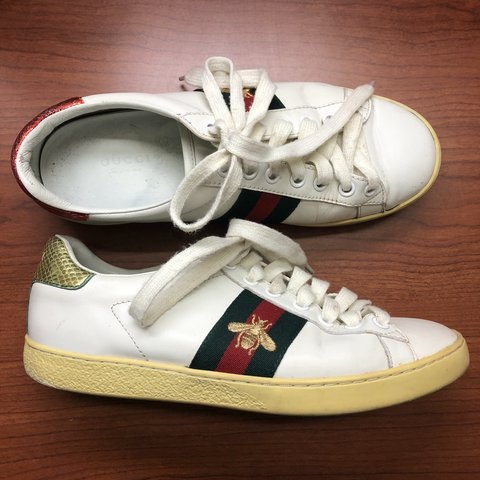 7c1f4fc29 @renevorilas. 8 months ago. Vestal, United States. Gucci Ace Bee Sneakers