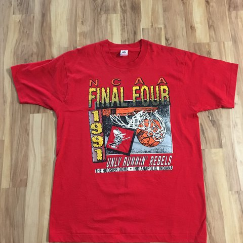 Vintage Fruit Of The Loom 1991 NCAA Final Four UNLV Runnin