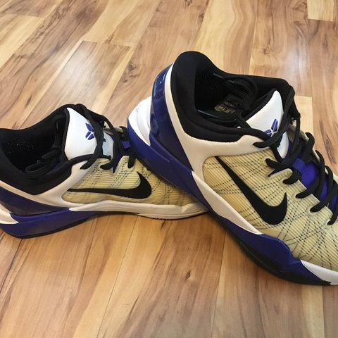 timeless design 41550 cb25f Nike  Kobe vii. Size 7c, in very nice condition. Very little - Depop