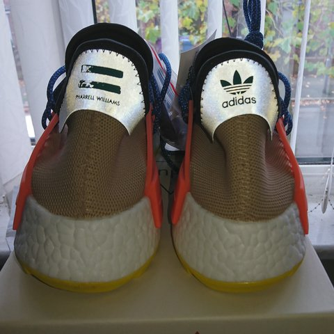 f9fa1f2e046f1 Adidas x Pharrell Williams HR NMD TR UK 8.5 Pale nude OG and - Depop