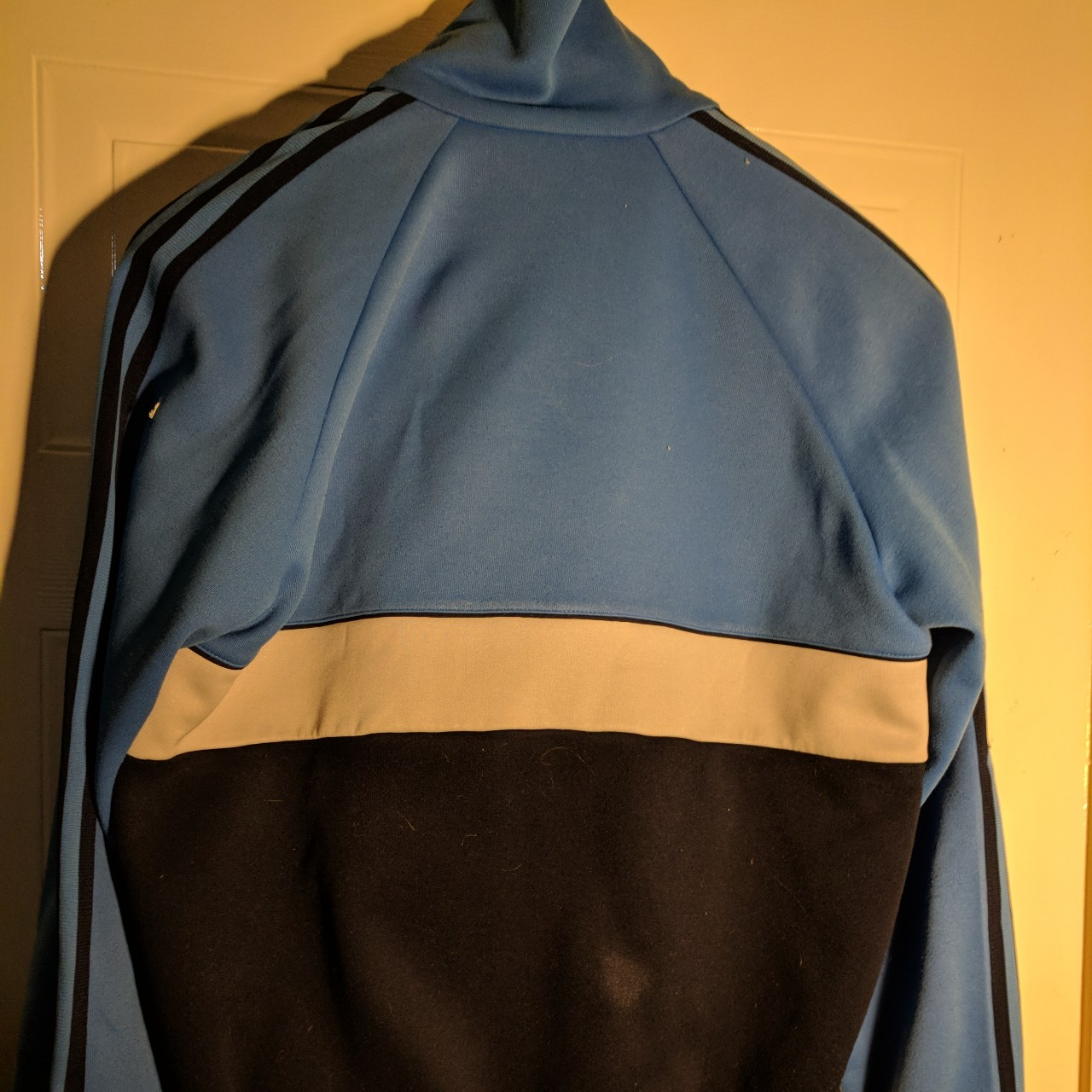 Adidas vintage jacket. Original 1970s jacket. Great Depop