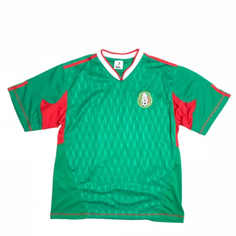 b0ea102f2 Vintage World Cup Mexico soccer football jersey 🇲🇽 • a - Depop