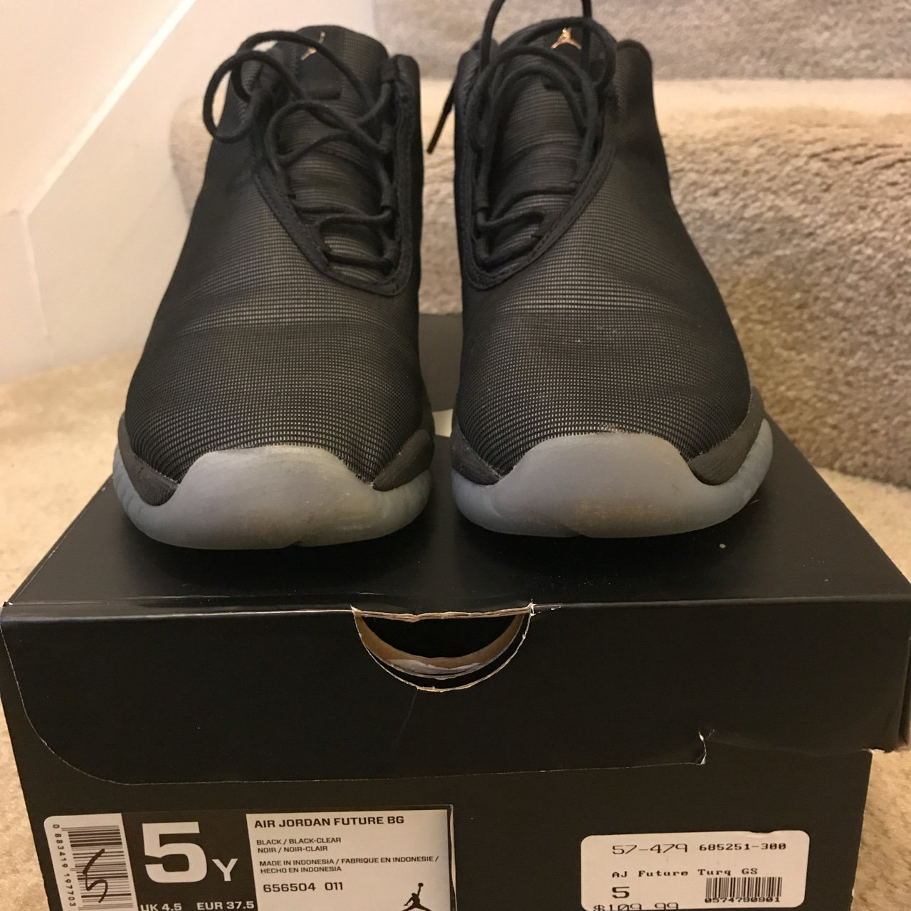f207d8495ad1 ... clearance air jordan future size 5 youth size 7 womens depop 996fb 6c135
