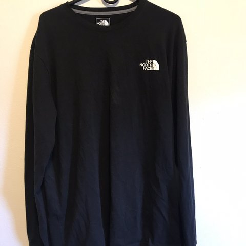 The North Face longsleeve. Worn and washed only once. Fits - Depop aaf79cc4b