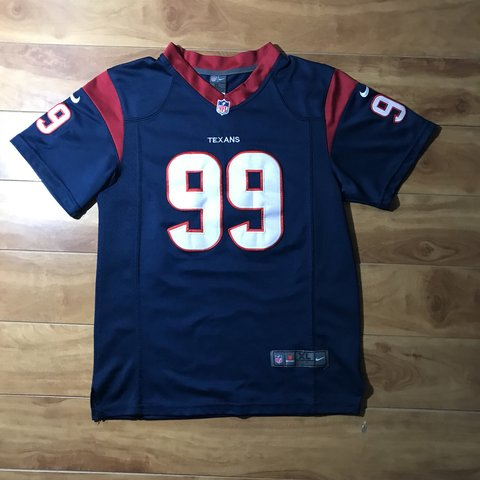 6767fe1b24a @rawco. 5 months ago. Houston, United States. Houston Texans Nike Jersey 🔥  #99 JJ Watt 🔥 Size ...