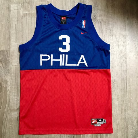 049e95a8 @teammate. 10 months ago. Ithaca, United States. Nike Philadelphia 76ers  Allen Iverson NBA jersey