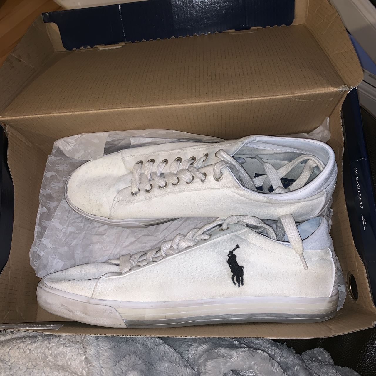 Polo Ralph Lauren shoes size 10, some