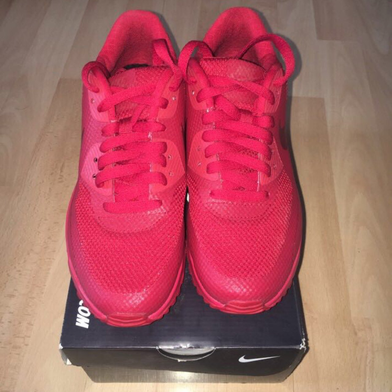 d47a88242d4d Brand new Nike Air Max 90 Hyperfuse RED trainer sneaker size - Depop