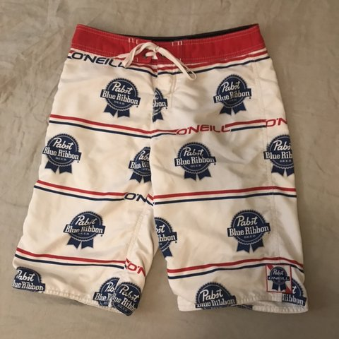 522310b622 @sweemselect. 2 months ago. Seattle, United States. Limited Edition Pabst  Blue Ribbon O'neill Board Shorts ...