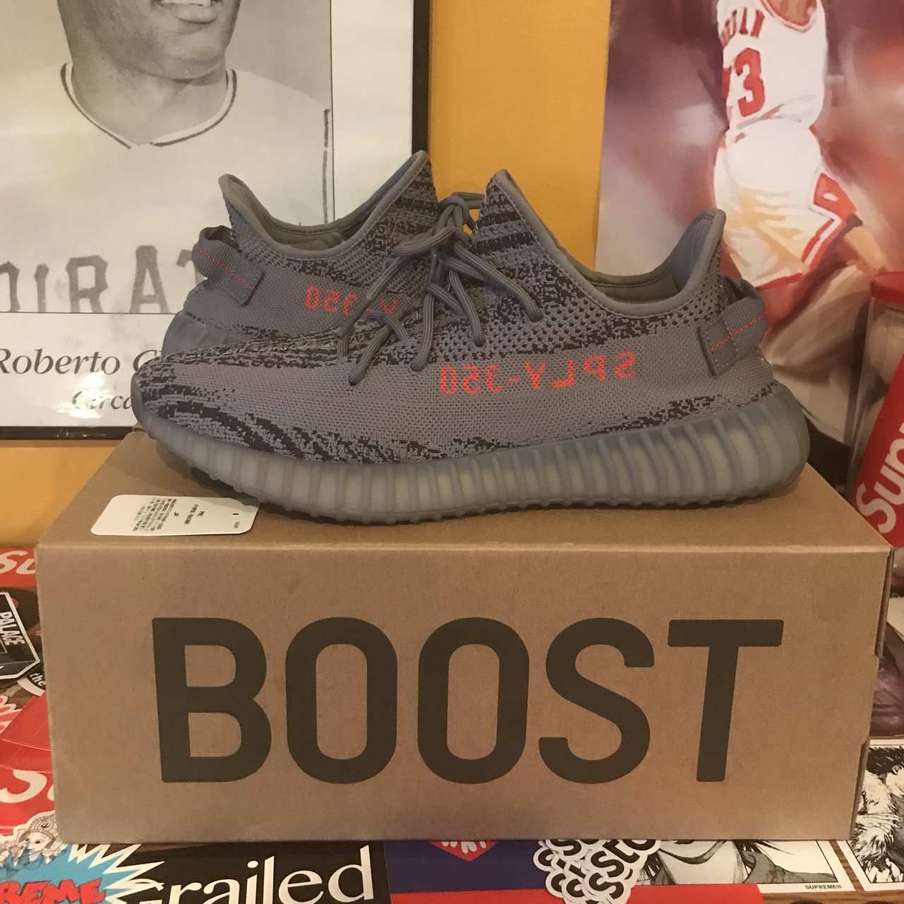 d662c0328eb4a6 Yeezy Boost 350 V2 beluga 2.0 Size 12 Barely worn great Can - Depop