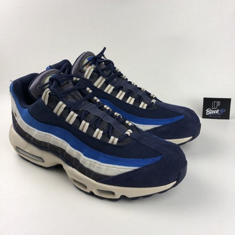 sneakers for cheap 7b4a5 94d83  blockp. last month. Liverpool, United Kingdom. Nike Air Max 95 Blackened  Blue 👟