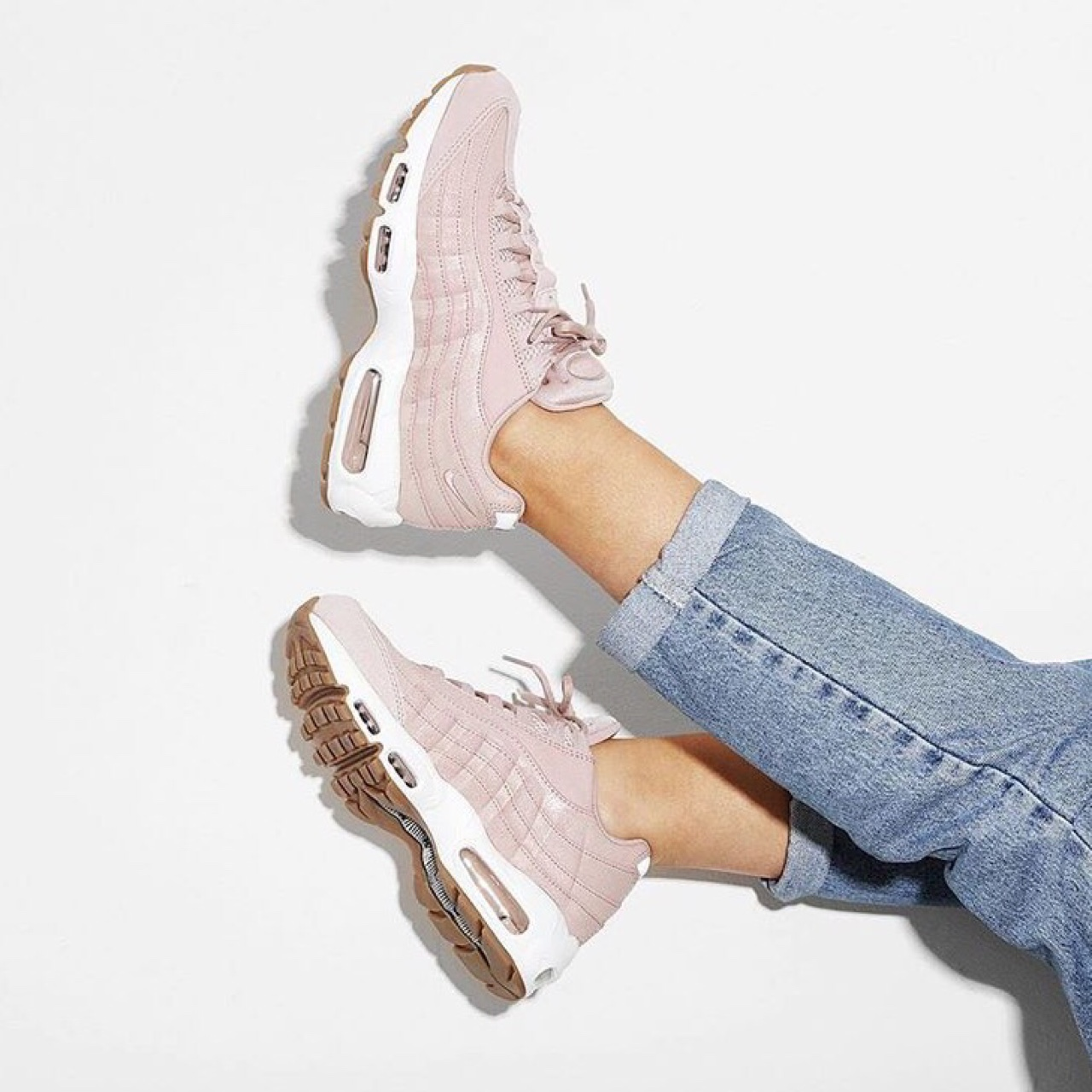 performance sportswear outlet boutique best authentic Wmns Nike Air Max 95 PRM Pink Oxford, size US 8 / UK ...