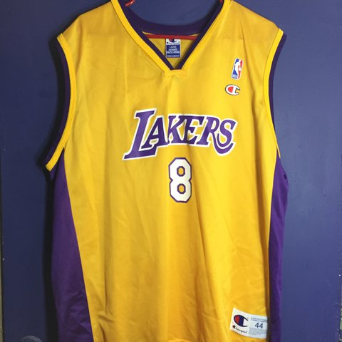 ca6a83c9c8e SOLD AS IS   VTG Los Angeles Lakers Kobe Bryant  8 Jersey - Depop