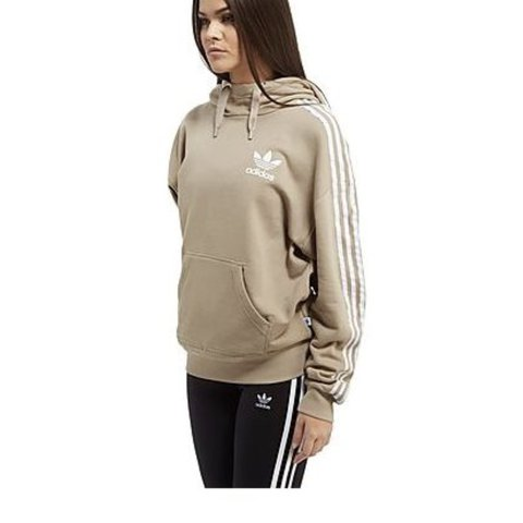 25163dfb977a Women s Adidas nude hoodie in size 6. Would fit size 4 6 8. - Depop