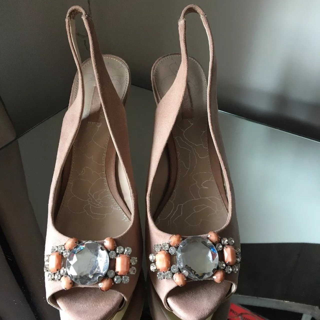 sandals/occasion wear shoes Blush pink