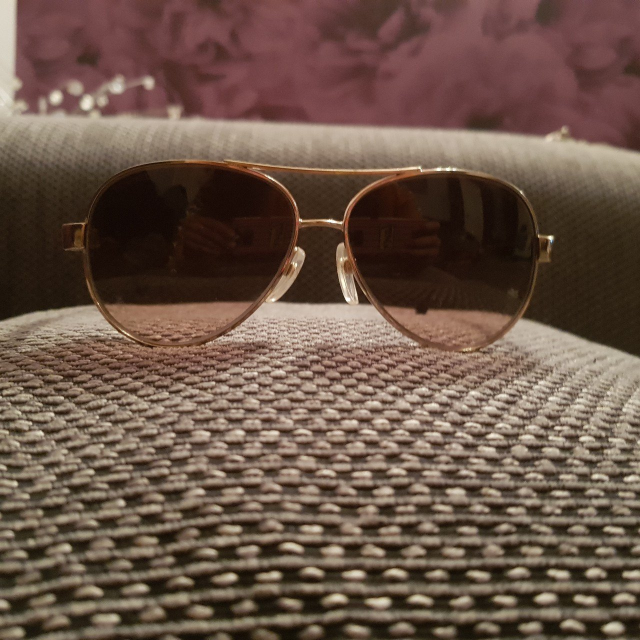 da255d8fb52c Chanel aviator sunglasses. Paid £319 from house of fraser in - Depop