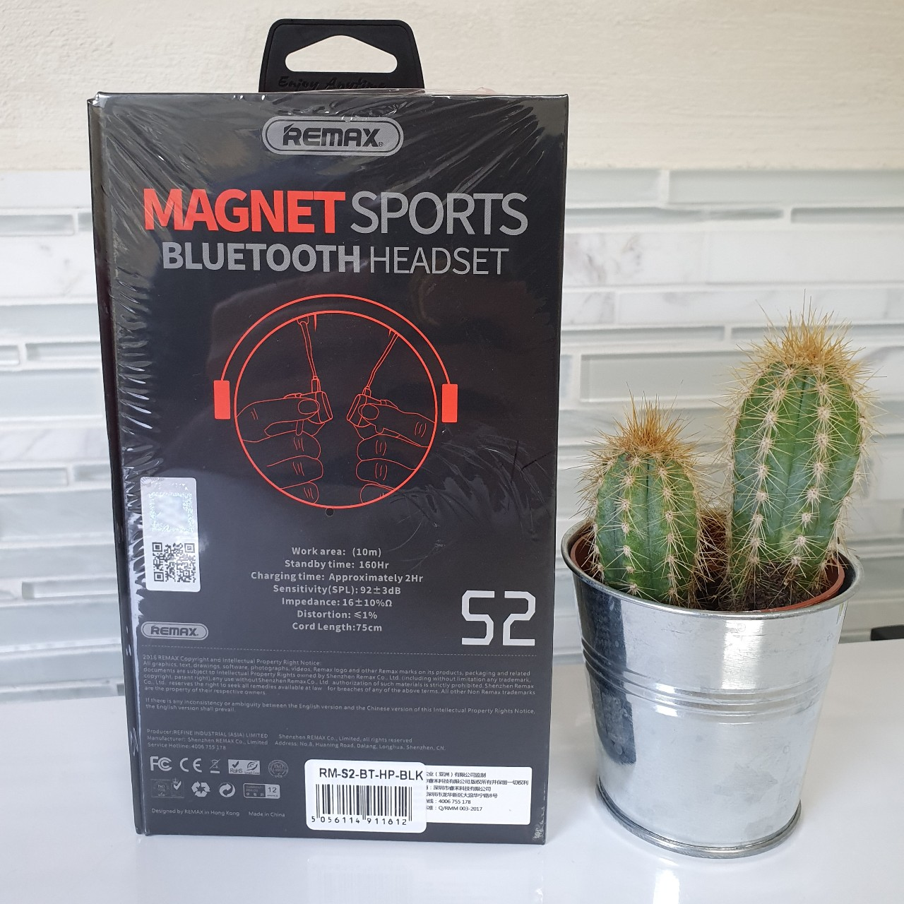 Remax S2 Magnet Sports Headset Quick Charge Often Depop