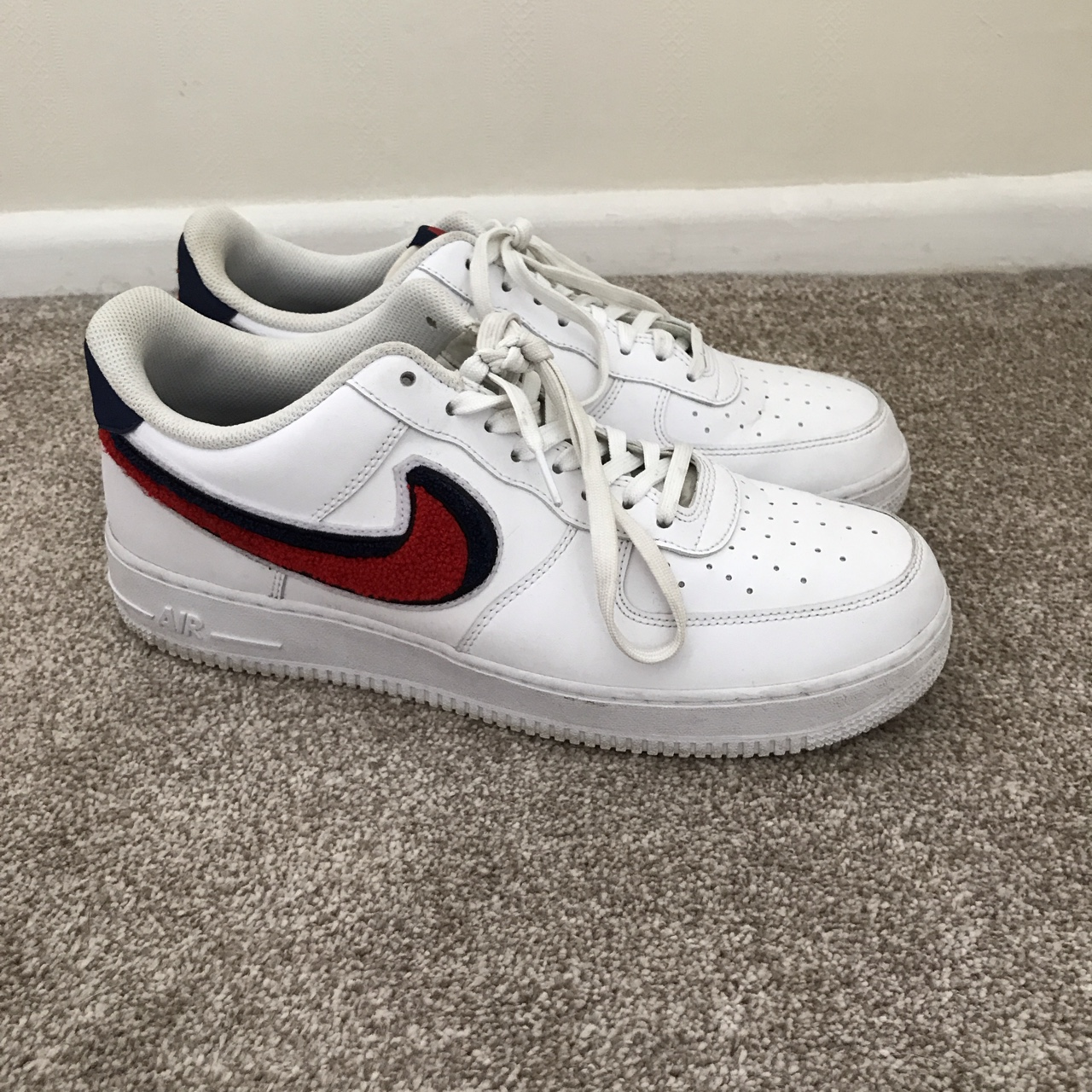 Nike Air Force 1 Lv 08 in a size UK10 Really sick    - Depop
