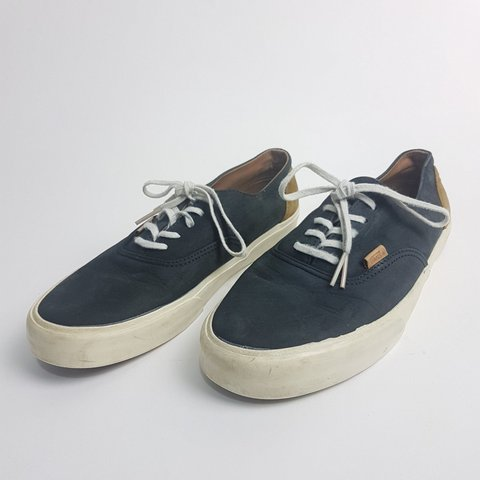 542d56a33a Vans Off The Wall Original leather suede old skool grey tan - Depop