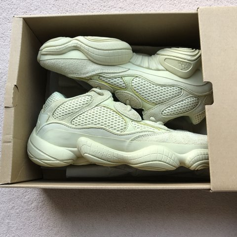 c5a417608 Yeezy 500 Desert Rat Supermoon Yellow. Size UK7. Stock are - Depop