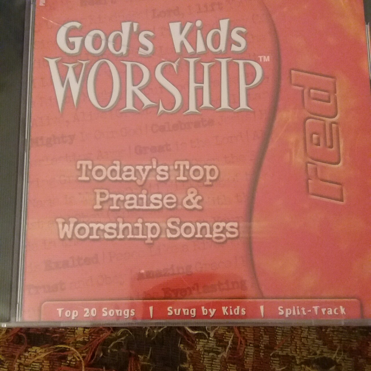 GOD'S KIDS WORSHIP (CD) NEW! Top 20 Songs Sung By