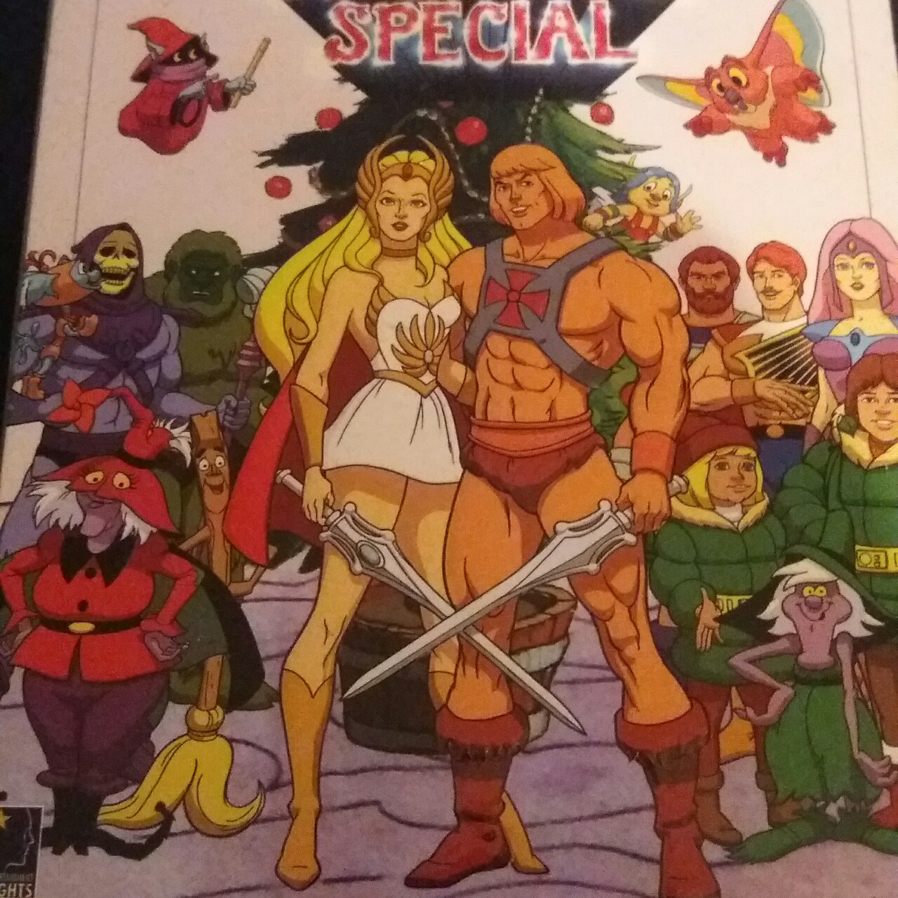 He Man Christmas.He Man She Ra A Christmas Special Dvd Comes In Depop