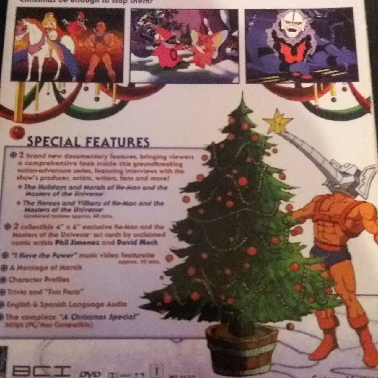 He Man Christmas Special.He Man She Ra A Christmas Special Dvd Comes In Depop