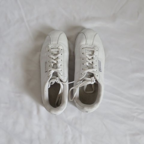 660e68b3904 ❗️White Champion Tennis Shoes❗ 💧These white Champions are - Depop