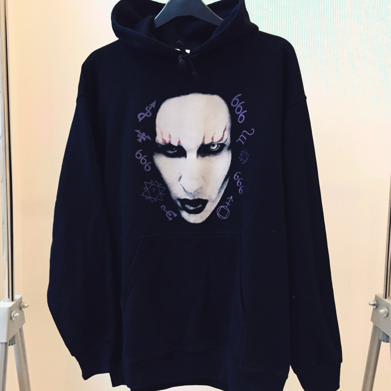 new & pre-owned designer fine quality good service Ultra Rare Marilyn Manson Hoodie. Marilyn Manson's... - Depop