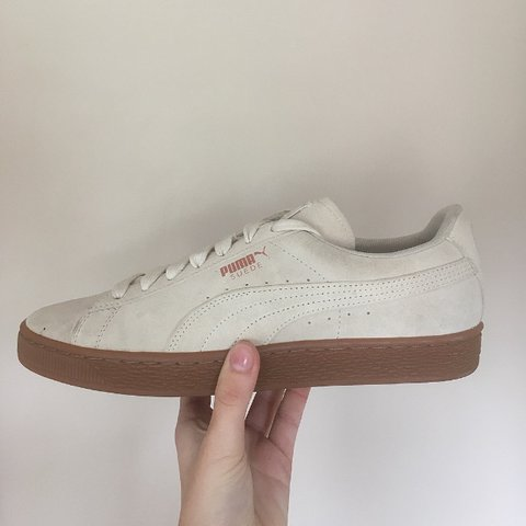 puma suede rose gold