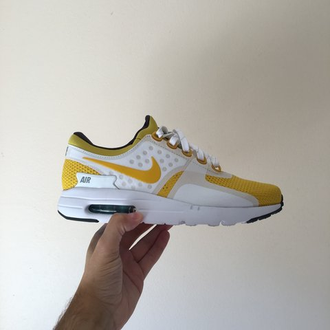 7eb91b3f05c3 Nike Air Max Zero 'Yellow' UK6.5 worn once, immaculate with - Depop