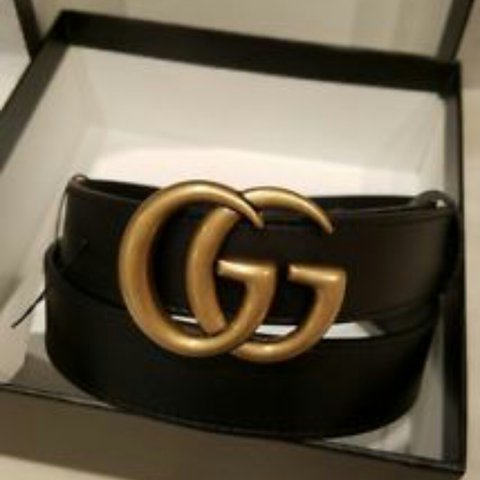 dadcba2a696 100% genuine marmont double g Gucci belt size 90. Only worn - Depop