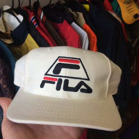 338c8e5e736 Vintage 90s Grant Hill Fila SnapBack hat. New without tags - Depop