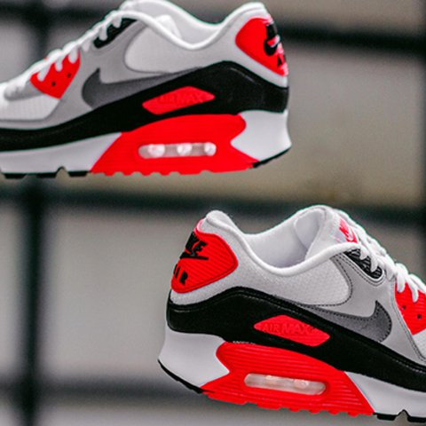 size 40 2fd22 a77eb  msamala. 10 months ago. Los Angeles, United States. Nike Air Max 90  Infrared 2015 White   Cool Grey-N ...