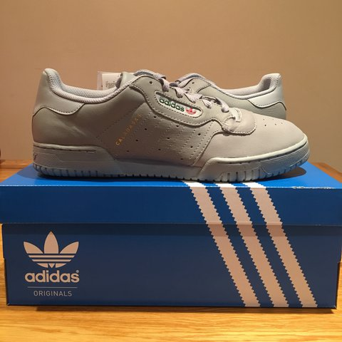 new products bca0d 969b9  approved streetwear. last year. Luton, United Kingdom. Adidas Yeezy  Powerphase Calabasas Grey Size  9.5 (UK) ...