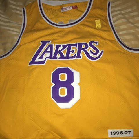 500082c2b00 Rookie year NBA Kobe Bryant jersey for sale  8. Its a size   - Depop