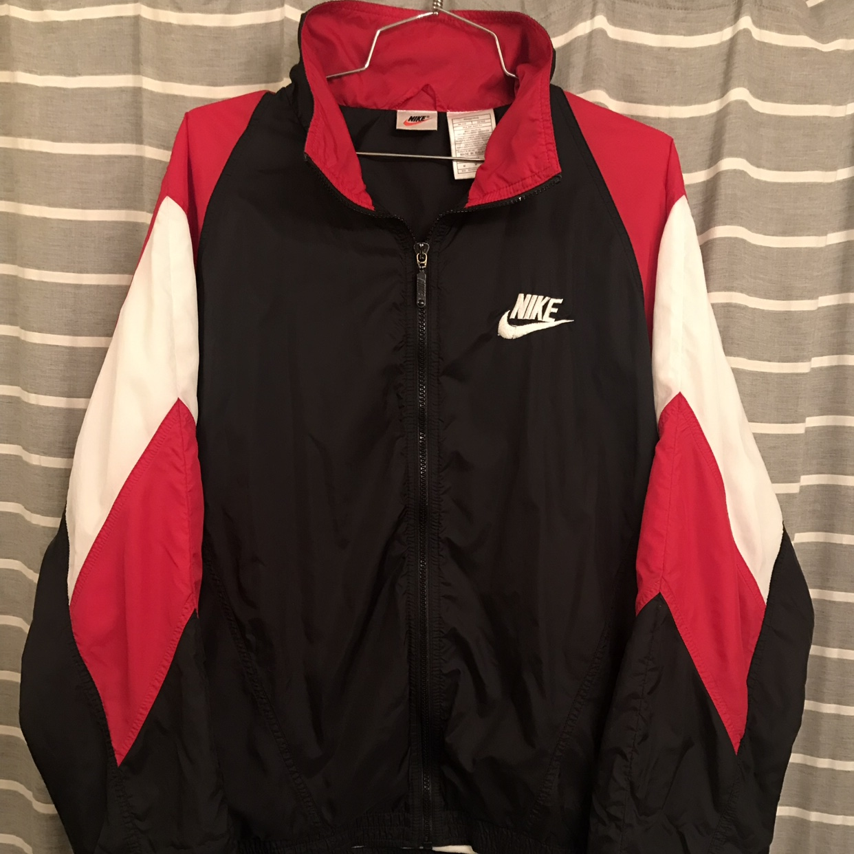 vast selection look out for outlet store sale Nike Windbreaker 1996 Nike vintage white tag Rare... - Depop