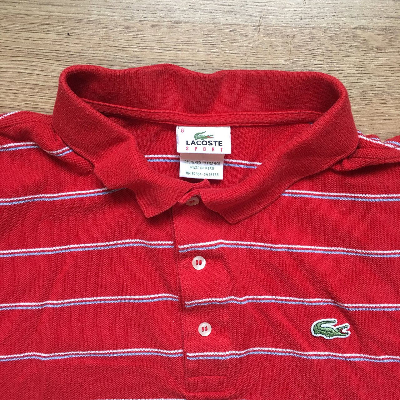 3c324da1f9aca Lacoste Polo Shirts Made In Peru