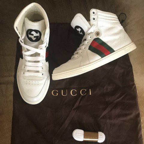 49d19f45b41 AUTHENTIC GUCCI SHOES Size 36 in women s EURO sizes. 6 in of - Depop