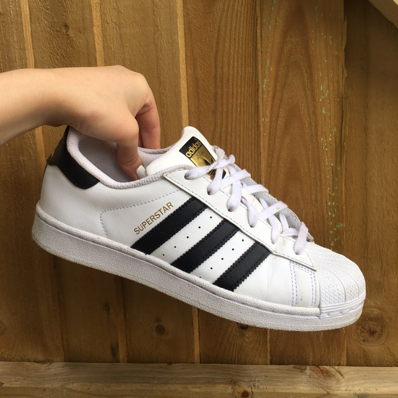 Adidas ▪️ Superstar Trainers White