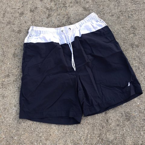 0863e5c61317e @felixfromflorida. 5 months ago. Dacula, United States. Nautica Mens Swim  Trunks Shorts Yachting Mesh Lined Colorblock Spell Out Large. Condition is  Great
