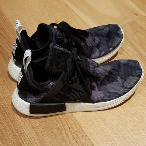 09430ea9a Adidas NMD XR1 Duck Camo Black Worn a couple times. - Depop