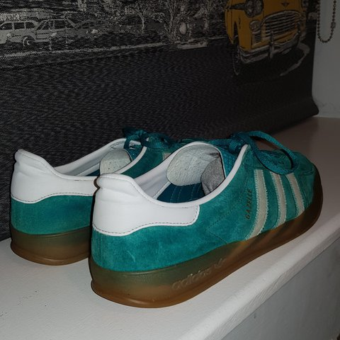 32a45cc46941bd Adidas Gazelle Indoor Size 11 No OG Box Price reflects - Depop