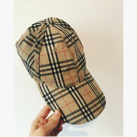 067bc2fa4ff Original authentic Burberry cap From the royston Burberry - Depop