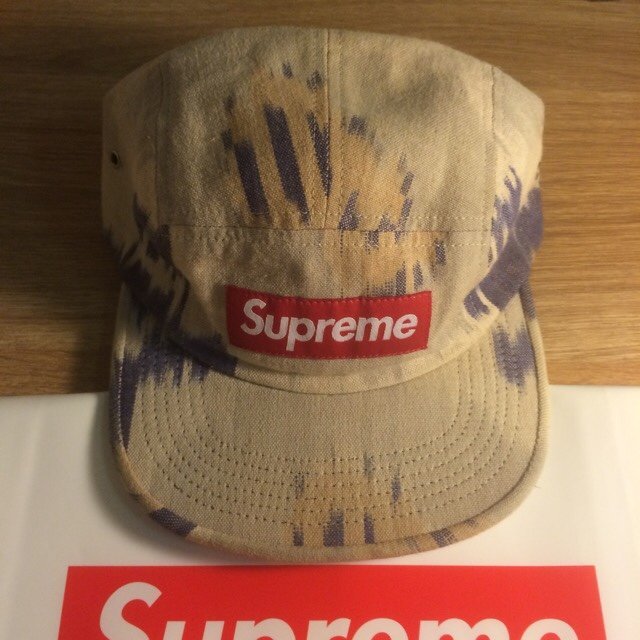 4e981ba0bf5 Supreme Ikat 5 panel camp cap from SS12 (9 10) - in great no - Depop