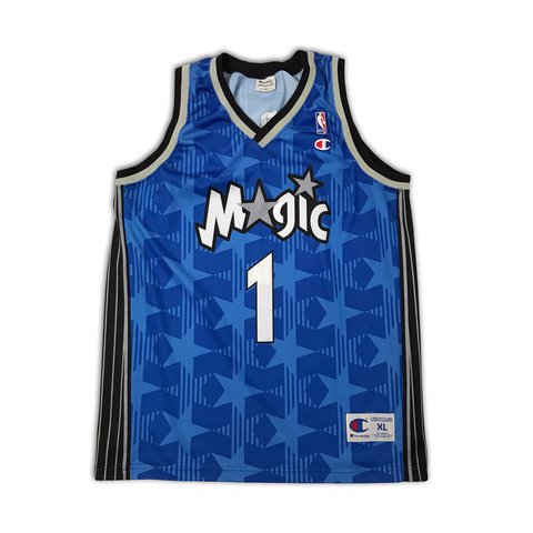 ... france vintage champion orlando magic away jersey. mcgrady 1 on the  depop 0a93b d9770 2246bf773